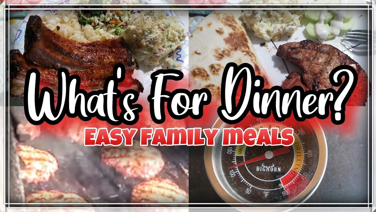 What's For Dinner | Easy Budget Friendly Meals | Big Horn Pellet Grill
