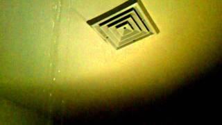 Raining in my bathroom