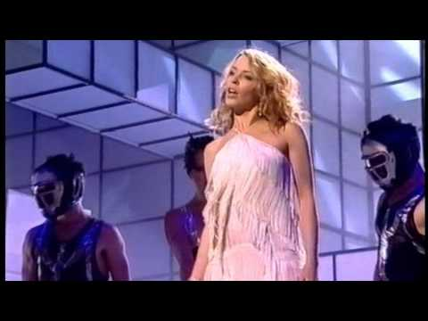 Kylie Minogue - Come Into My World Live (Fischerspooner Mix - TOTP Awards 29-11-02)
