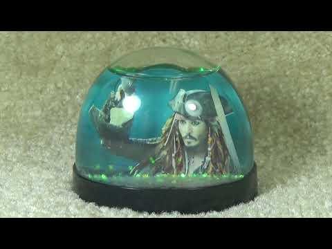 Pirates Of The Caribbean On Stranger Tides | Jack Sparrow Snowglobe