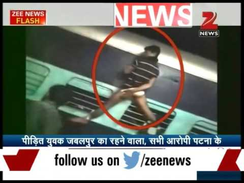 Youth Tied and Beaten in Patliputra Express