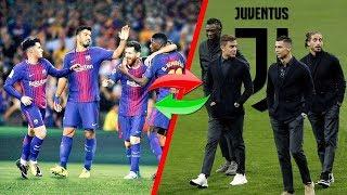 El TREMENDO INTERCAMBIO que preparan el Barcelona y la Juve ¡Quieren romper el mercado!