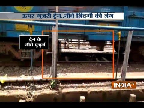 Shocking Video: Train runs over...