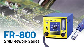 FR-800 Series Hot Air Rework Stations