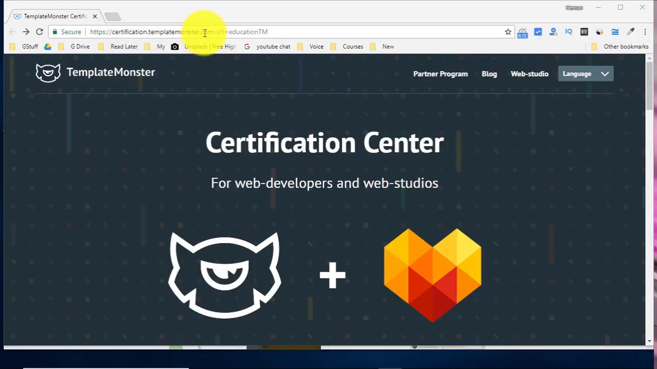 Web Development Course With Certificate Youtube