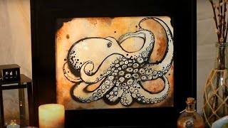 How to Draw an Octopus with Ink!