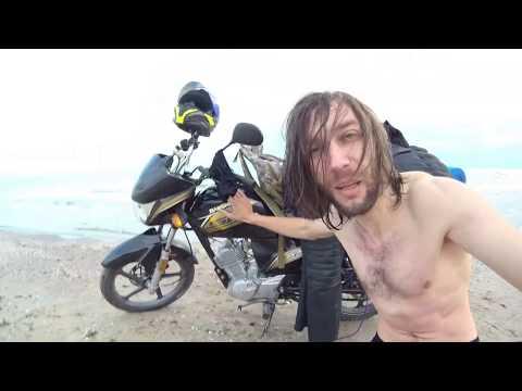 Доехал до Чёрного моря на китайском мотоцикле! Коблево. 1800 км пути