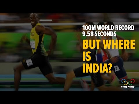 India's national athletics records - compared to the world's