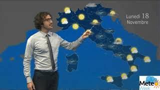 Previsioni Meteo lunedì 18 novembre