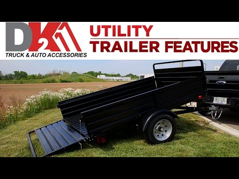 DK2 Multi Utility Trailer Features