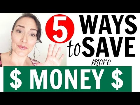 HOW TO SAVE MONEY FAST ● 5 WAYS TO SAVE MONEY ● FRUGAL MINIMALIST