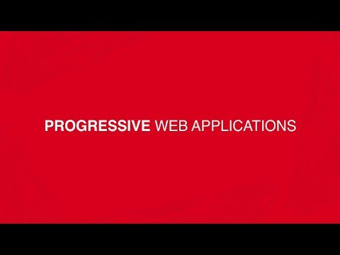 Building Progressive Web Apps - An Overview