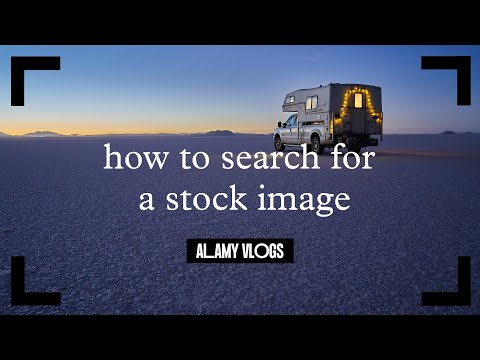 How to search for a stock image on Alamy - Alamy Vlogs