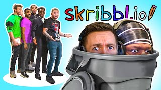 SKRIBBL.IO but we kick each other from the game (Sidemen Gaming)