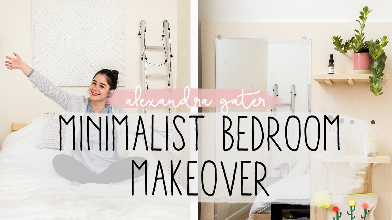 Amazing Minimalist Bedroom Makeover Bedroom Ideas Youtube