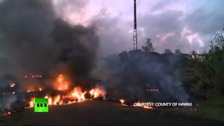 Kilauea volcano triggers evacuation fears on Hawaii's Big Island