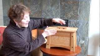 Craftsman Style Cremation Urn