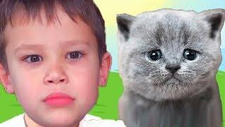 КРАСНЫЙ ШАР МИСТЕР МАКС спасает кошечку Мурку, мультик игра Детский летсплей #44
