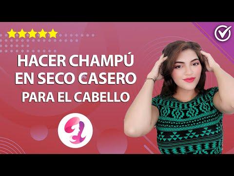 ¿Cómo Hacer Shampoo o Champú en seco Casero para el Cabello con Ingredientes Naturales? ¡Muy Fácil!