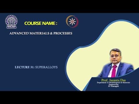 Lecture 31: Superalloys