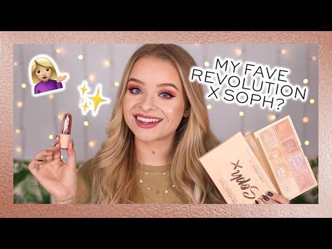REVOLUTION   PEACHY SPRING LOOK USING REVOLUTION X SOPH