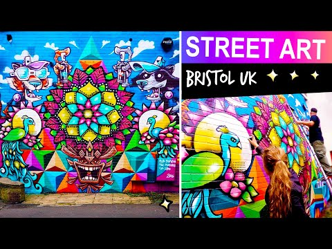 Bristol Street Art - Ellen Stapleton, SP Zero & Paul Monsters