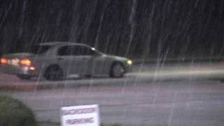 (PONCA CITY & BLACKWELL OKLAHOMA)  -  ICE & SNOW STORM of MARCH 27TH & MARCH 28TH