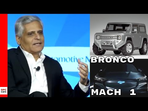 Ford Bronco & Mustang Electric Mach  SUV Update