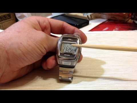 Часы на солнечной батарее Casio DB-E30D-1