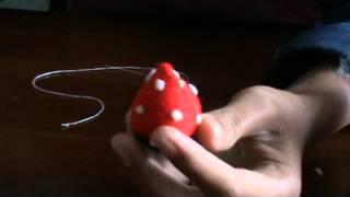Cara Bikin Tiruan Kue Strawberry dari Kain Flanel