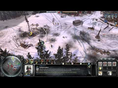 Company Of Heroes 2: The British Forces Gameplay - Quell Allied Masses!  
