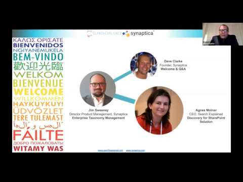Discovery for SharePoint - Synaptica & Search Explained webinar