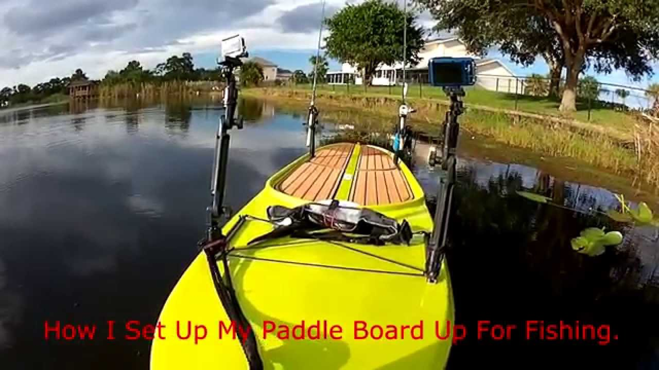 how to set up tyr paddles