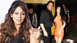 Shahrukh Khan's Wife Gauri's REACTION On Suhana's Orange Dress