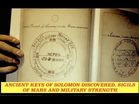 Ancient Solomon Key Discovered for Military Dominance - Pentacle of Mars