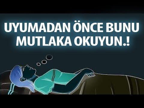 Eğer Uyumadan önce Bunu Söylerseniz Tüm Günahlarınız Affedilir