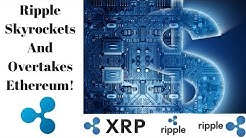 Ripple XRP Skyrockets and Overtakes Ethereum as #2 Crypto!