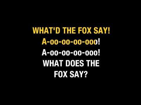 Ylvis   The Fox