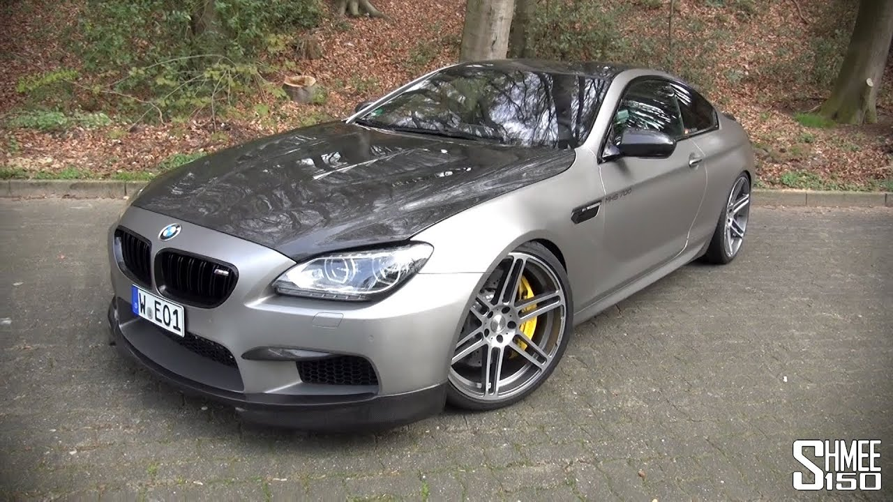 Manhart MH6 700 BMW M6   Introduction And Revs   YouTube