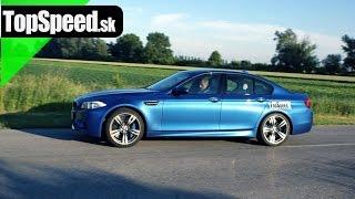 Test BMW M5 F10 TopSpeed.sk