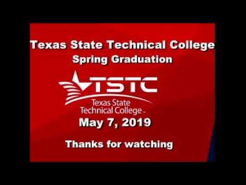 TSTC Spring 2019 Graduation