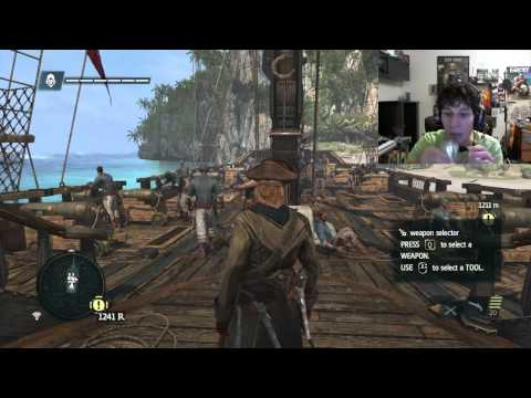AC4 Black Flag - Intense Naval Combat and Missions (Part #4) WindNvidia3D SLI 780 Ti's
