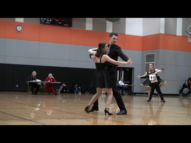 #PNTSDF2018 Jacks & Jills Novice Compulsory Waltz, Christian Hatch and Christina Brighton