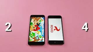 iPhone 6s VS LG Q6 Speed test