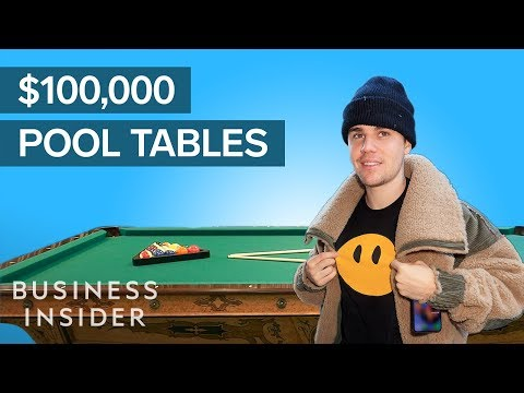 How Celebrity-Favorite Pool Tables Are Made, Starting At $20,000 | The Making Of