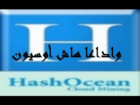وداعا HashOcean وإرجاع الأموال لأصحابها !!!
