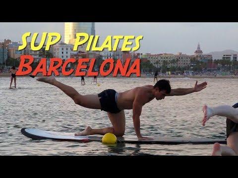 SUP Pilates en Barcelona