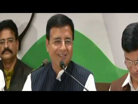 Rajasthan Election 2018: Randeep Surjewala addresses media in Jaipur, Rajasthan