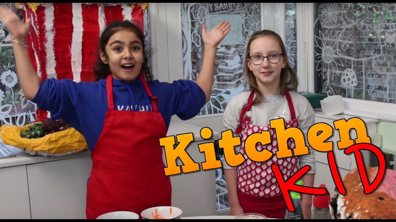 Kitchen Kid Black Countertops Make A Tasty Wrap With Hotham Primary School Litfilmfest Bbc Good Food