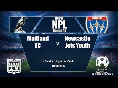 2017 Northern NSW NPL Round 14 Maitland FC v Newcastle Jets Youth